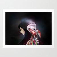 Women_ผีตาโข… Art Print