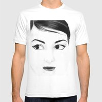 pretty face Mens Fitted Tee White SMALL