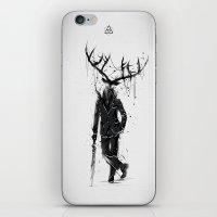 A Fine Lunch Sketch iPhone & iPod Skin