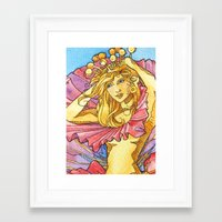 Hibiscus Queen Framed Art Print