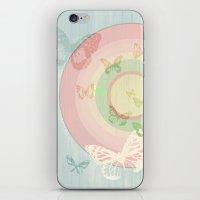 Pin My Wings iPhone & iPod Skin