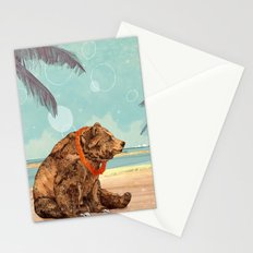 Beach Bear Stationery Cards