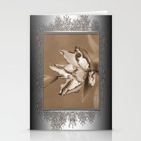 Double Asiatic Lily Name… Stationery Cards