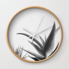 Succulents II Wall Clock