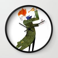 The Coat Tail Wall Clock