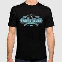 Sabre Wulf Mens Fitted Tee Black SMALL