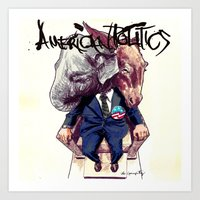 American Politics Art Print