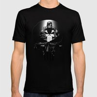 The Punisher Mens Fitted Tee Black SMALL