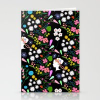 Late Summer Bouquet Patt… Stationery Cards