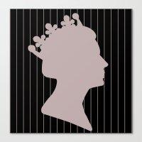 Queenie 4 Canvas Print
