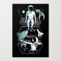 Space Between Canvas Print