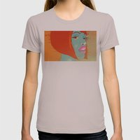 Party Girl Womens Fitted Tee Cinder SMALL