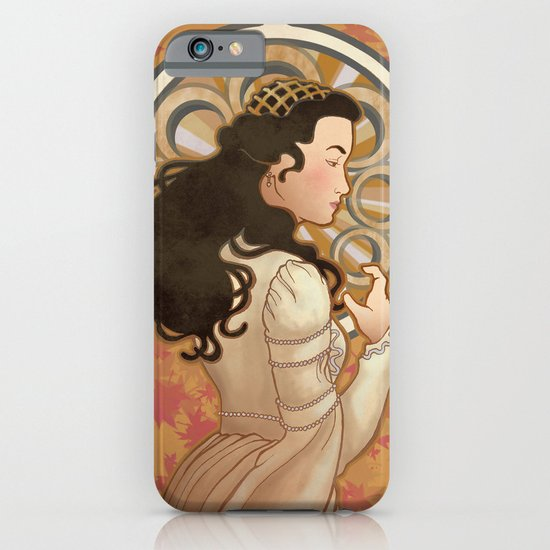 Loved by the Sun Nouveau iPhone & iPod Case