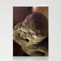 Stuffed Hippo Stationery Cards