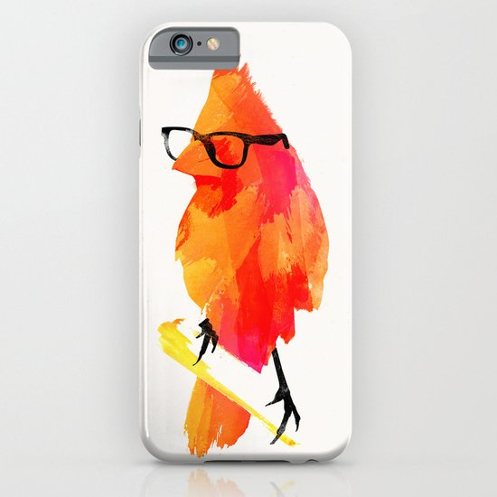 Punk bird iPhone & iPod Case