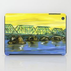 New Hope-Lambertville Bridge iPad Case