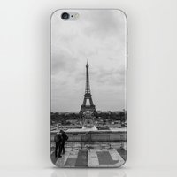 Paris Skyline  iPhone & iPod Skin