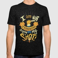 My Shot Mens Fitted Tee Tri-Black SMALL