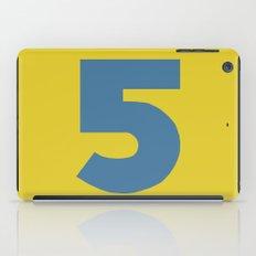 Number 5 iPad Case