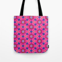 Kaleidoscope Floral Tote Bag