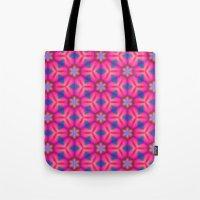 Kaleidoscope Floral Tote Bag