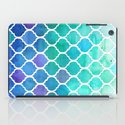 Emerald & Blue Marrakech Meander iPad Case