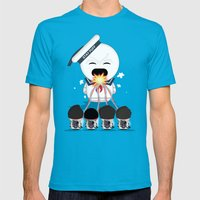 How To Roast Stay Puff M… Mens Fitted Tee Teal SMALL