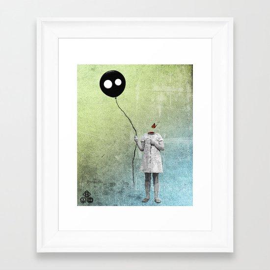 not letting go Framed Art Print