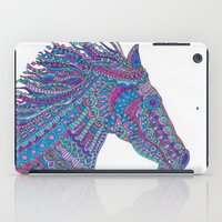 Technicolor Horse iPad Case