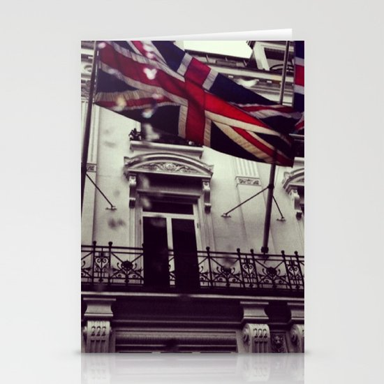 Raise the flag Stationery Card