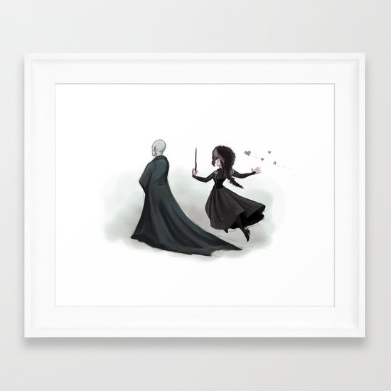 Mad Love Framed Art Print