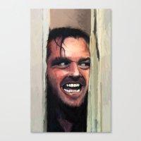 Fear. Canvas Print