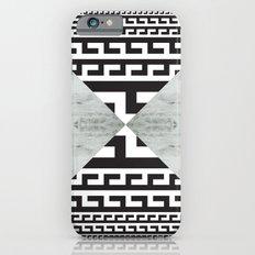 waves/grid #5 iPhone 6s Slim Case