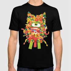 Sweet Monster SMALL Mens Fitted Tee Black
