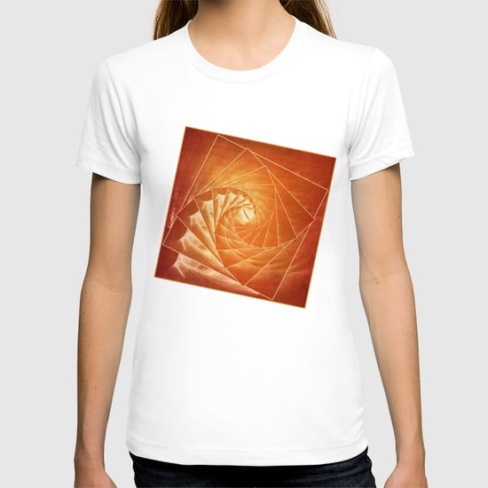 The Burning Eye Sees Spiral T-shirt