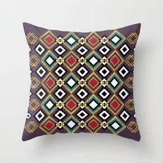 GÉOMÉTRIQUE Throw Pillow