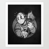 HorrorToon 2: Nightmare on Toon Street Art Print