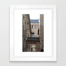 Somewhere in Berlin Framed Art Print