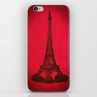 Eiffel 2  iPhone & iPod Skin