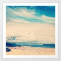 Padstow Estuary  Art Print