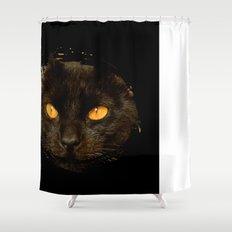 DARK DELIGHT Shower Curtain