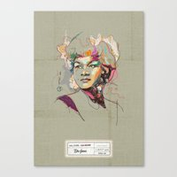 Etta James - Soul Sister… Canvas Print