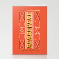 Persevere Stationery Cards