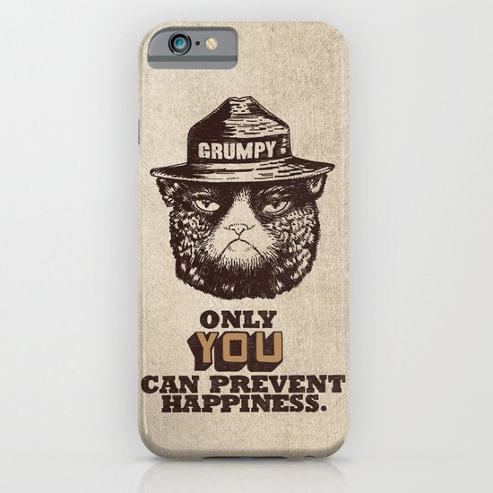 Grumpy PSA iPhone & iPod Case