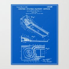 Skee Ball Patent - Blueprint Canvas Print