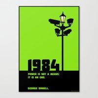1984 George Orwell Canvas Print