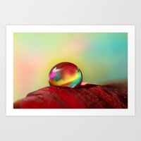 Tropical Drop Art Print