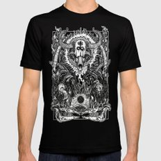 Witching Mens Fitted Tee Black SMALL