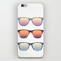 PUT YOUR GLASSES ON ...  iPhone & iPod Skin