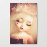 Invisible Tears Canvas Print
